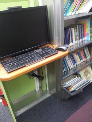 Mobile Library Computers