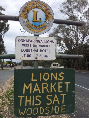 Lions' Market at Woodside