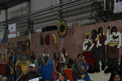 Mural in Dining-Foodhall area