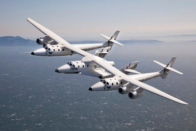 Virgin Galactic's VSS Eve and VSS Enterprise.