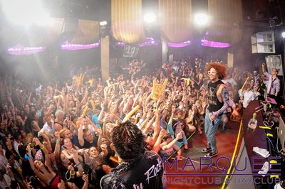 Redfoo from LMFAO at Marquee Las Vegas