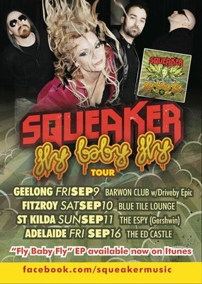 Squeaker Fly Baby Fly Tour