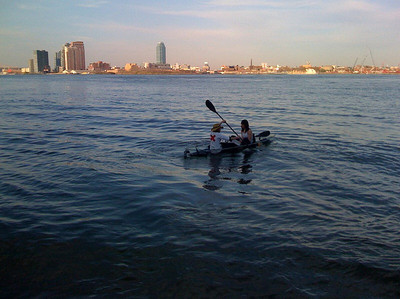 Canoeing in NYC