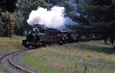 Puffing Billy as we all know it.