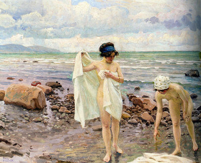 Paul Fischer's 'The Bathers'