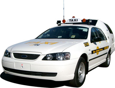 Typical taxi from Taxis Combined
