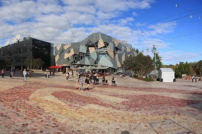 Federation Square. The Main hub of the EWF