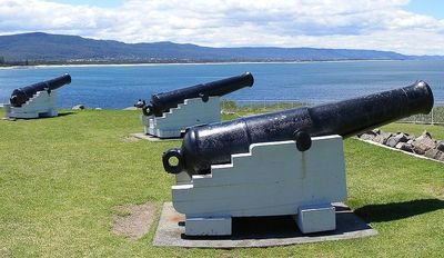 Guns at Flagstaff Hill