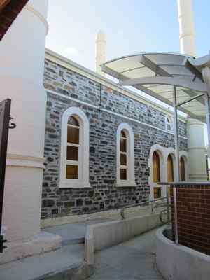 adelaide afghan mosque entrance