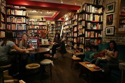 Gertrude and Alice Cafe Bookstore