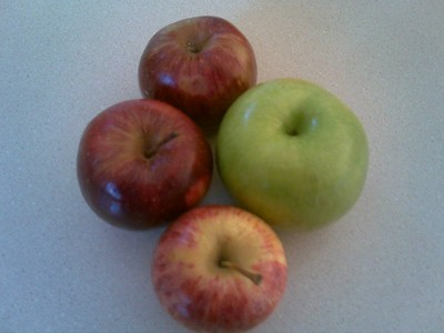 Red Delicious or Granny Smith Apples