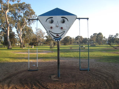 Clown Swing at Bundoora Park