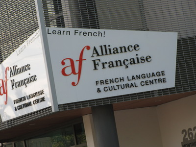 alliance francaise photo by west end girl