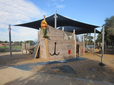 Pirate Ship at Roy Dore Reserve Playground