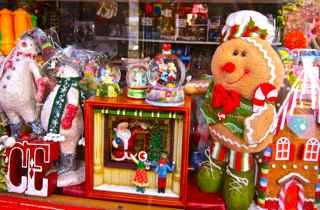 Enchanting toys at The Christmas Cottage at Leura