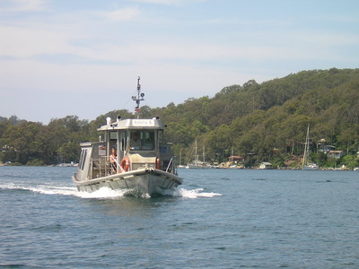 Ferry from Church Point