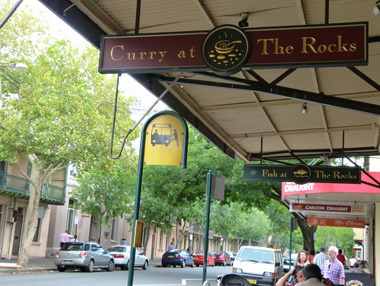 Curry at The Rocks, image courtesy of Curry at The Rocks website