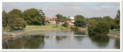 A lovely view of the Cooks River