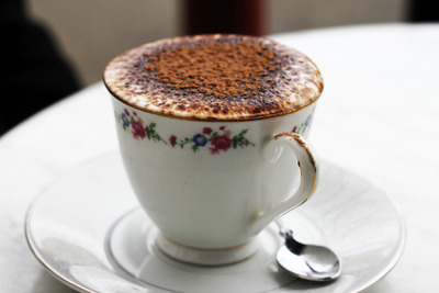 Chocolate frothy goodness