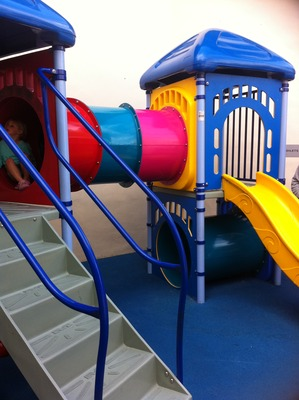 The Enclosed Play Area
