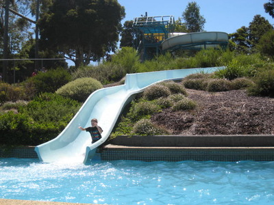Outdoor Water Slide