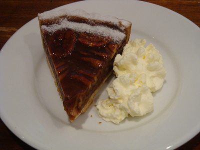 Mmm, and his pecan pie
