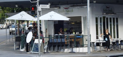 little greek taverna photo by west end girl