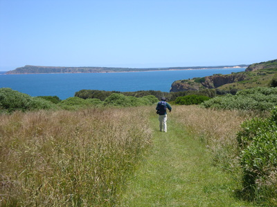 Miles of views on the George Bass Coastal walk