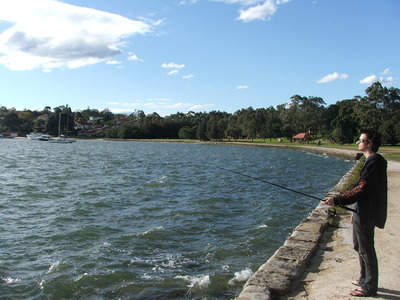 Putney Park Foreshore looking toward park area