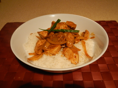 Yellow Curry Chicken Stir-Fry