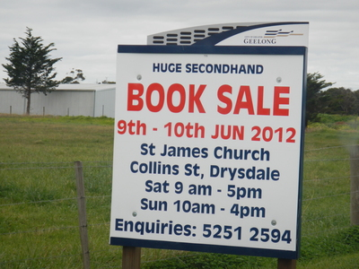 St James Church Second-hand Book Sale