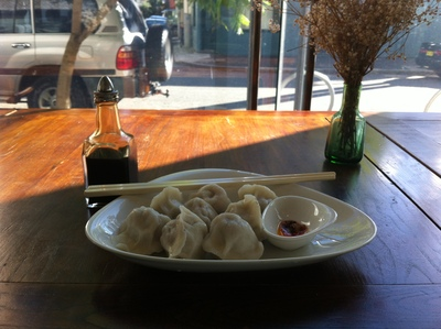 Delicious handmade dumplings White Rabbit
