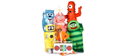 Image appears courtesy of Yo Gabba Gabba! Facebook and Vivid Sydney website
