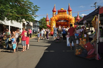 the Corso street party will have a jumping castle for the kids