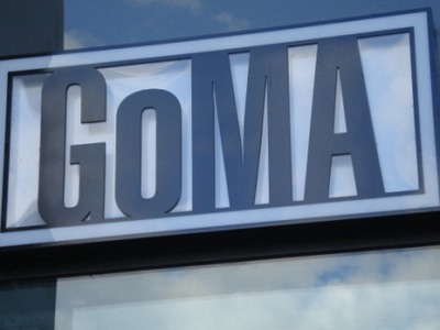 goma sign photo by west end girl