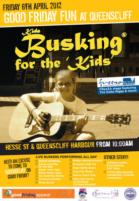 Kids Busking For The Kids