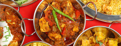 Curries at Curry at The Rocks, image courtesy of Curry at The Rocks website