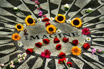 Strawberry Fields, New York
