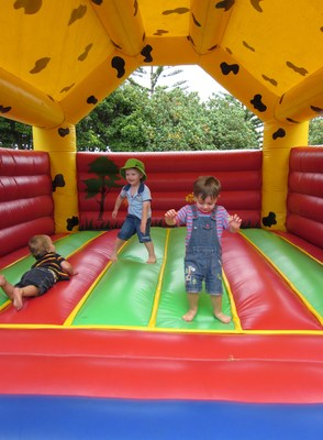 jumping castles have become a favourite at kids birthday parties