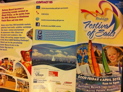 Redcliffe Festival of Sails Pamplet