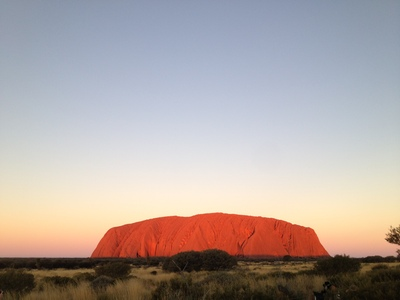 Uluru at sunset (c) JP Mundy