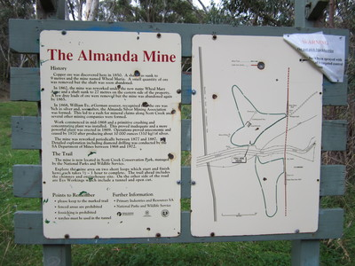Almanda Mine trails