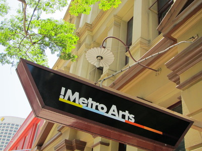 metro arts sign by west end girl