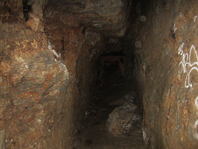Inside the shaft