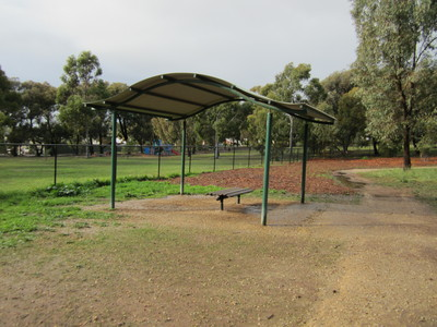 One of the shelters