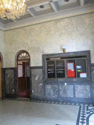 Woodard building lobby