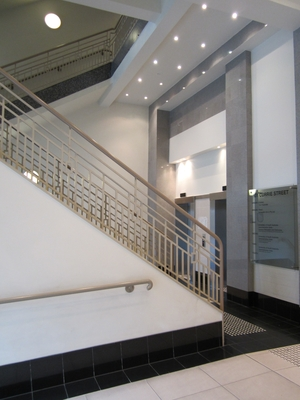 Lobby of 101 Currie St