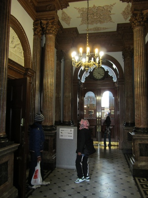 Edmund Wright House lobby