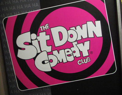 sit down comedy club photo by west end girl