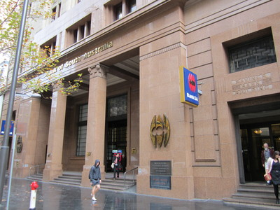 Former Savings Bank of South Australia exterior